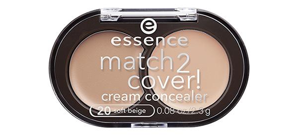 essence match2cover! cream concealer #20